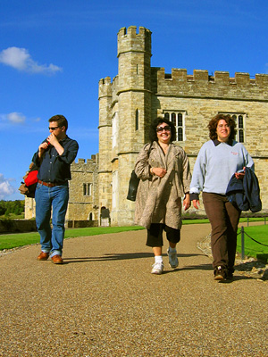 English Country Walks group at Leeds Castle
