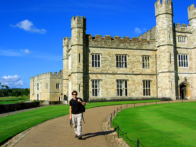 David Wenk, English Country Walks, at Leeds Castle