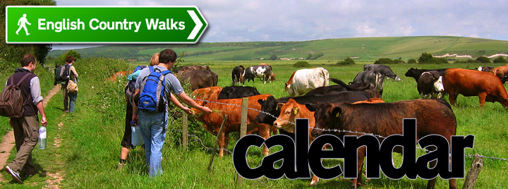 English Country Walks - 2011 Calendar